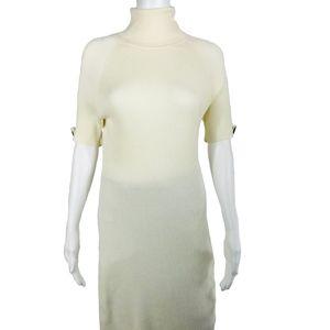 Moda Sweater Dress Womens Size Large Turtleneck